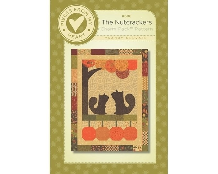 Patchwork-Anleitung MODA THE NUTCRACKERS, Charm Pack Pattern