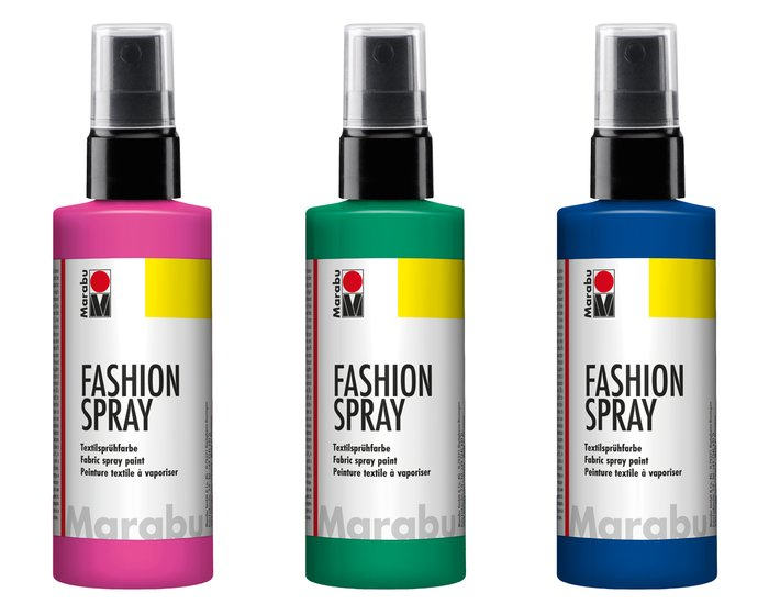 Textil-Farbspray FASHION SPRAY, 100 ml von Marabu