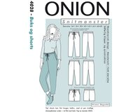Bequeme Hose oder Shorts, Schnittmuster ONION 4028