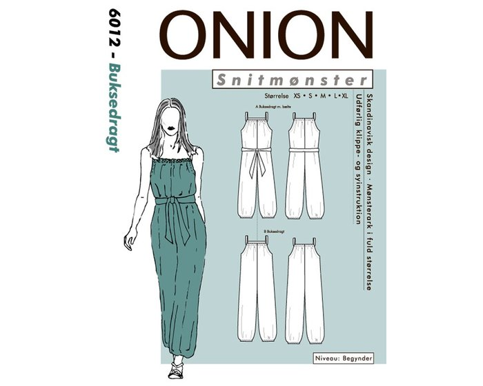 Overall, Schnittmuster ONION 6012