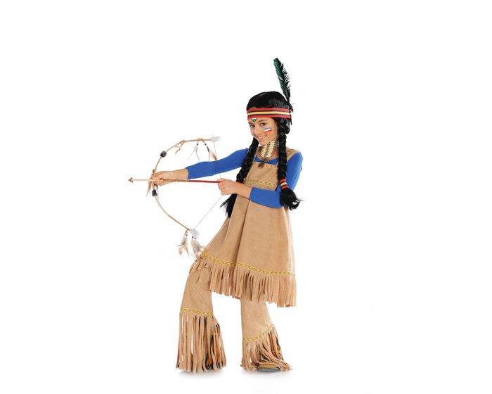 Schnittmuster Faschingskostum Fur Kinder Indianerin Und Hippiebraut