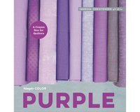 Patchworkbuch Simply Color Purple, Moda Fabrics