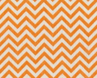 Filzplatte DESIGN FELT CHEVRON, Zackenmuster, orange-weiß