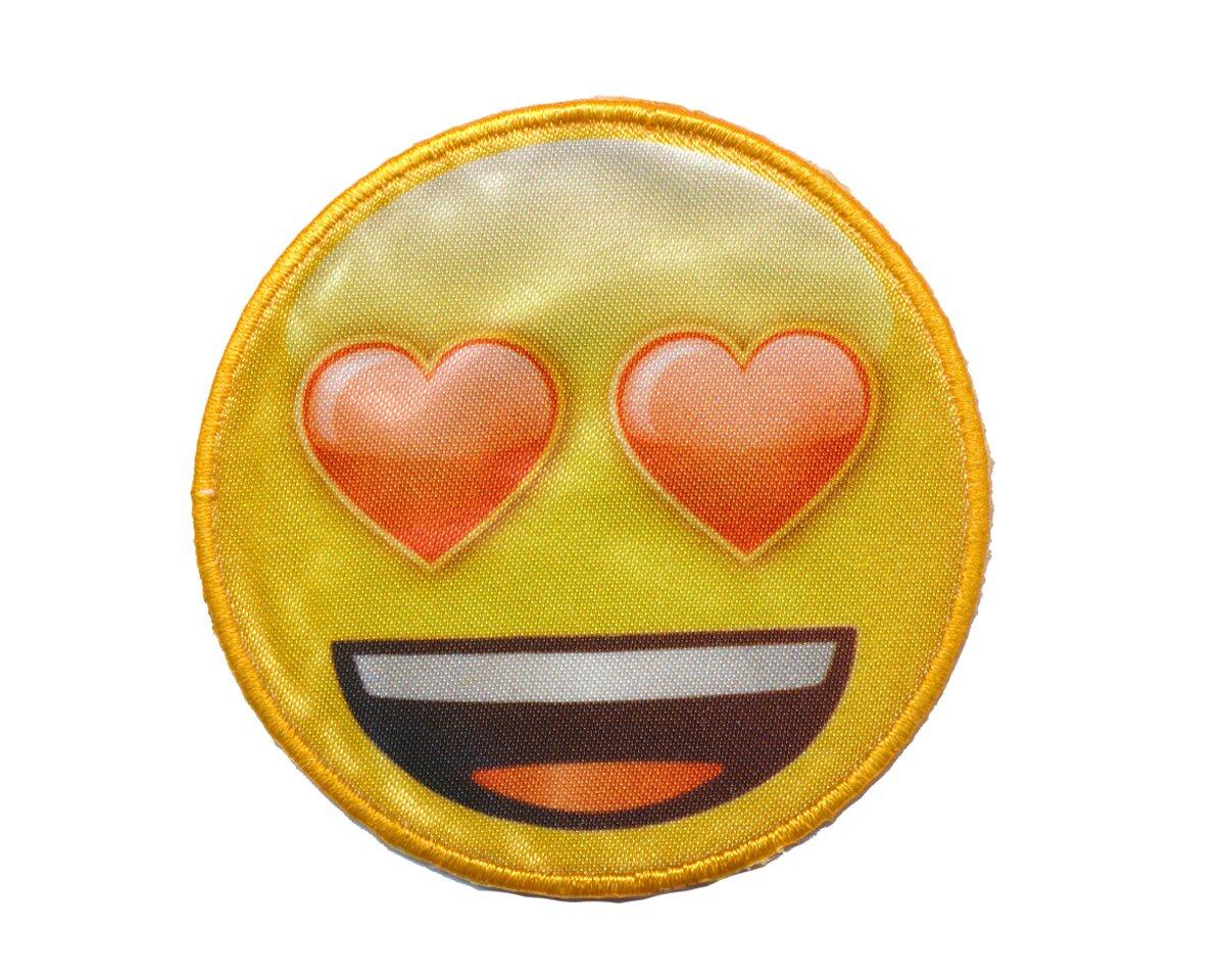 Smiley Mit Herzchenaugen
