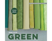 Patchworkbuch Simply Color Green, Moda Fabrics
