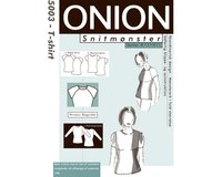 Basic-Shirt, Schnittmuster ONION 5003