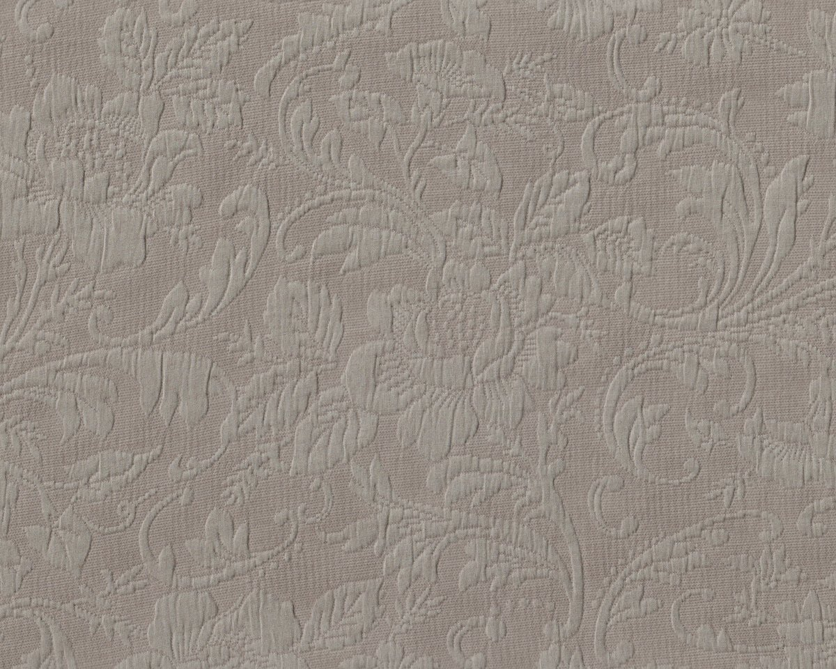 jacquard dekostoff polsterstoff genova j pique rosen ornament bl ten beigegrau. Black Bedroom Furniture Sets. Home Design Ideas
