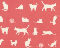 Double Gauze, Organic Cotton FARM FRESH, Katzen,...
