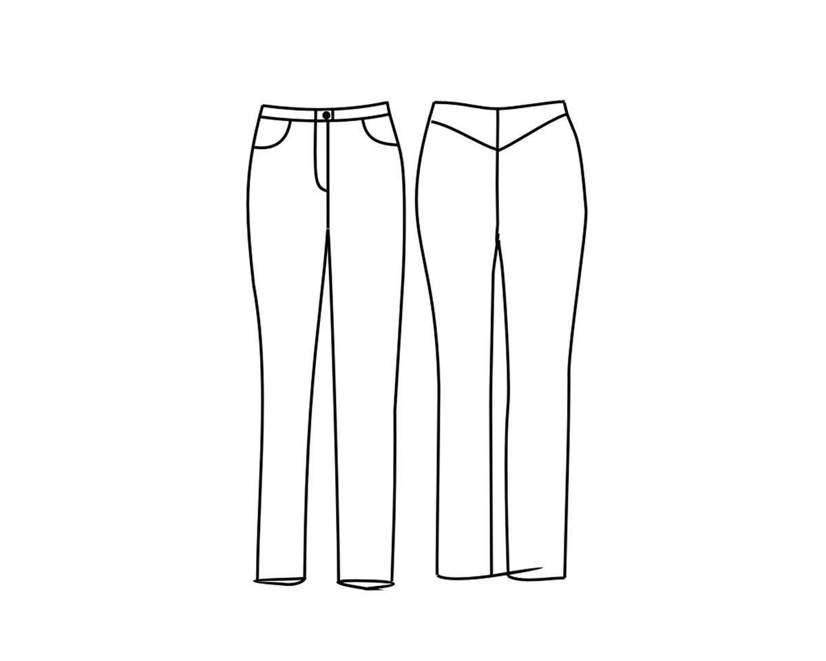 stoffverbrauch jeans hose