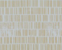 Patchworkstoff MODERN BACKGROUND LUSTER, Strichcode, hellgrau-gold