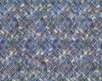 Leichter bedruckter Jacquard-Jersey-Crash MARTINA, Blumen-Ovale, blau 9cd78e3770