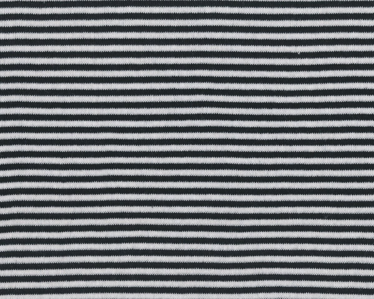 b ndchen stoff feinripp ringel schmale streifen schwarz wei. Black Bedroom Furniture Sets. Home Design Ideas