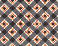 Patchworkstoff FLORENCE mit Diagonal-Viereck-Flechtmuster, dunkles...
