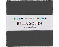 Precuts Charm Pack BELLA SOLIDS, 12,5 x 12,5 cm, 42...