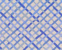 Feiner Patchworkstoff MAD PLAID, diagonales Gitter auf...