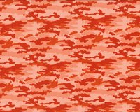 Patchworkstoff NOMAD, Camouflage, terracotta