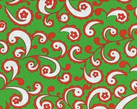 Patchworkserie Christmas Snowflower, Paisleys mit...