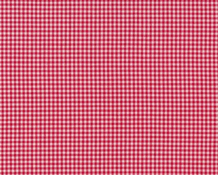 Westfalenstoff Webstoff Landhaus Vichykaro Rot Weiß