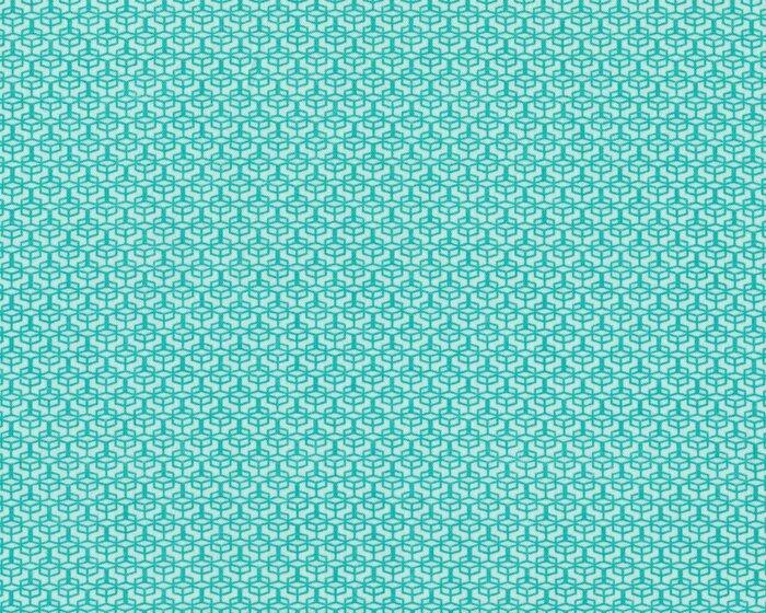 Feiner Baumwollstoff COLORED WINDOW, Mini-Kaleidoskop-Muster ...