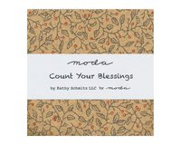 Precuts Charm Pack COUNT YOUR BLESSINGS, 12,5 x 12,5 cm,...