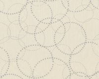 Patchworkstoff MODERN BACKGROUND PAPER, Kreuzchen-Kreise, natur