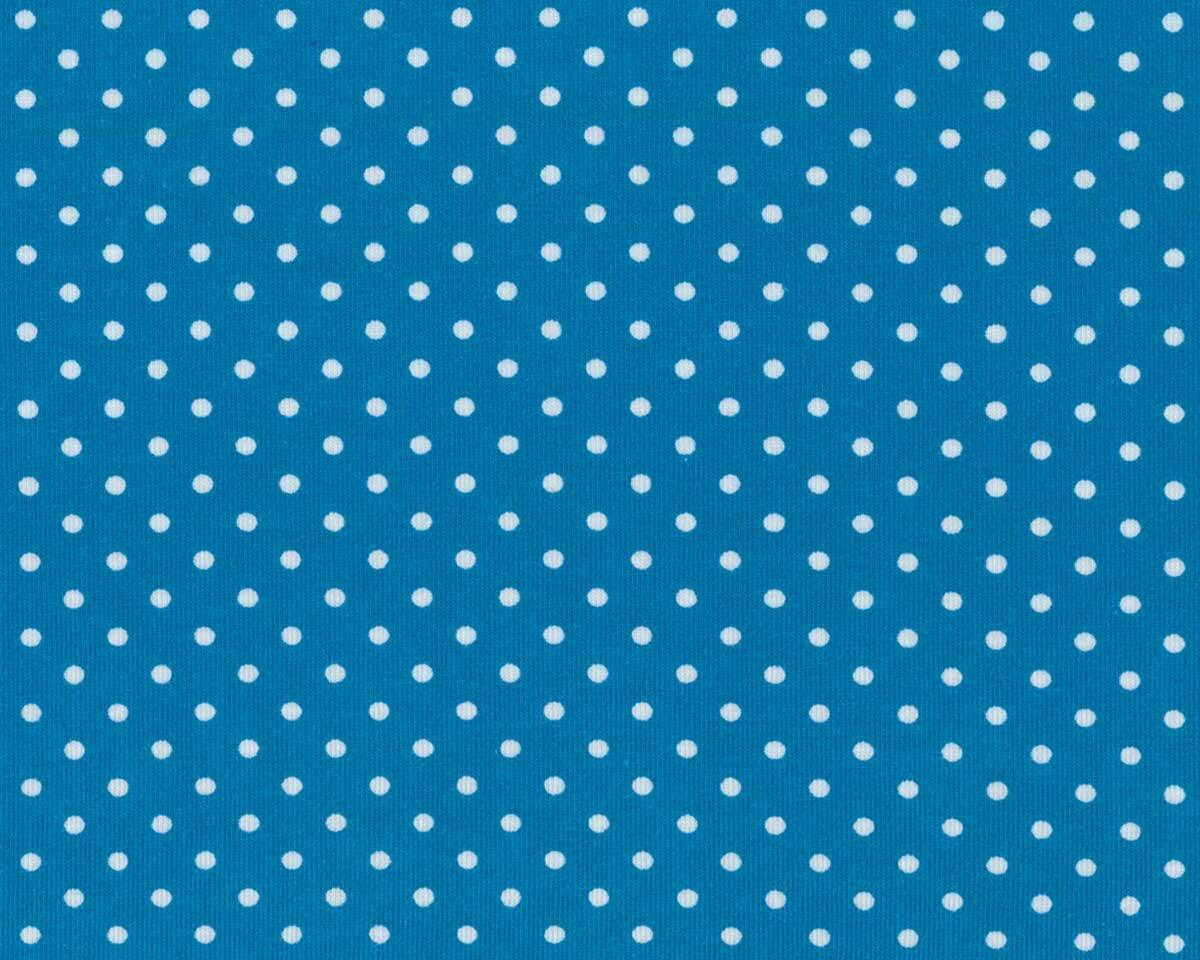 türkis 3mm Jerseydots kleine Punkte Swafing Jersey