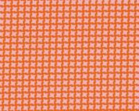 Patchworkstoff UP PARASOL, Pepita-Muster, gedecktes orange-rosa