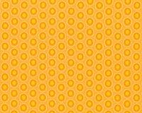 Popeline-Patchworkstoff OVAL ELEMENTS, Pfauenaugen-Ovale, helles orange-orange