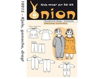 Overall, Kleid und Leggings, Schnittmuster ONION 10015