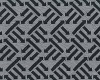 Leichter Bio-Jacquard-Strick RIGHT DIRECTION, Pfeile,...