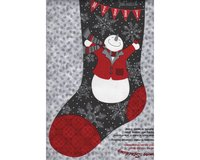 60-cm-Rapport Patchworkstoff HOLIDAY MAGIC, Weihnachtsstrümpfe,...
