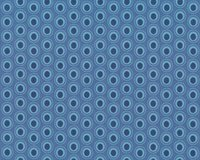 Patchworkstoff OVAL ELEMENTS, Pfauenaugen, taubenblau,...