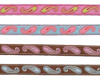 Webband PAISLEY, Paisley-Ornamente, 16 mm breit, 4...