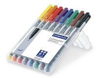 8er-Set Folienstift permanent LUMOCOLOR SET, Staedtler...