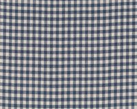 Patchwork-Webstoff SNOWBERRY WOVENS, Karomuster, stumpfes dunkelblau