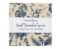 Precuts Charm Pack RACHEL REMEMBERED, 12,5 x 12,5 cm, 42 Quadrate