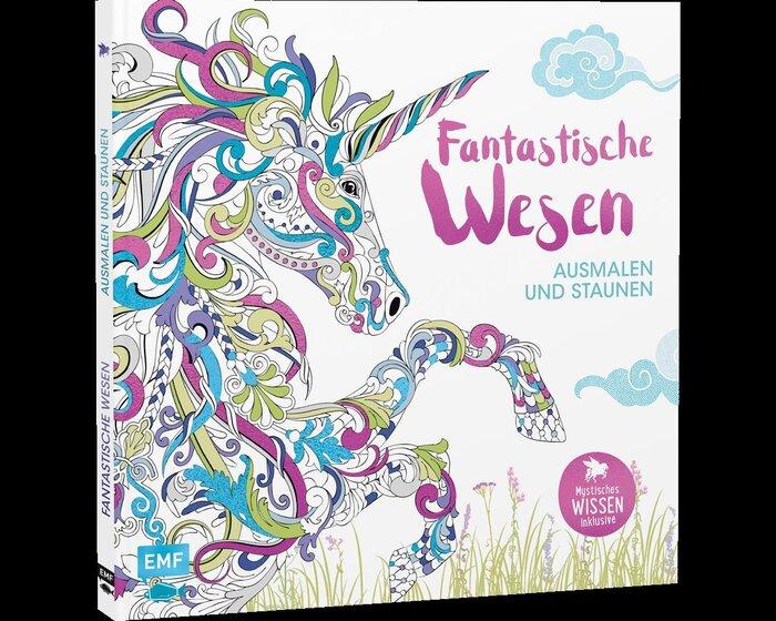 Zeichenbuch: Fantastische Wesen, EMF