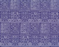 Bio-Patchworkstoff LACE TILES, Spitzenmuster,...