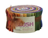 Precuts Jelly Roll SHADOW BLUSH, 6 x 110 cm, 40 Streifen