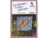 Patchwork-Anleitung ZENTASTIC COLOR SPLASH, Quilt