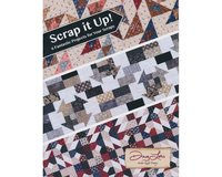 Patchwork-Anleitungsheft: Scrap it up, Quiltprojekte,...