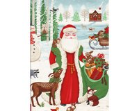 60-cm-Patchworkstoff-Abschnitt, Adventskalender A TIME OF WONDER,...