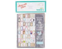 75-cm-Panel DESIGNER QUILT LABEL