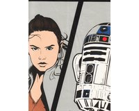 90-cm-Panel Patchworkstoff STAR WARS: THE LAST JEDI, Hauptcharaktere,...