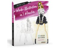 Modedesignbuch SKETCH & GO: MODE-ILLUSTRATIONEN IN 5 MINUTEN, Stiebner Verlag