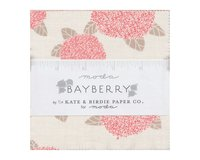 Precuts Charm Pack BAYBERRY, 12,5 x 12,5 cm, 42 Quadrate