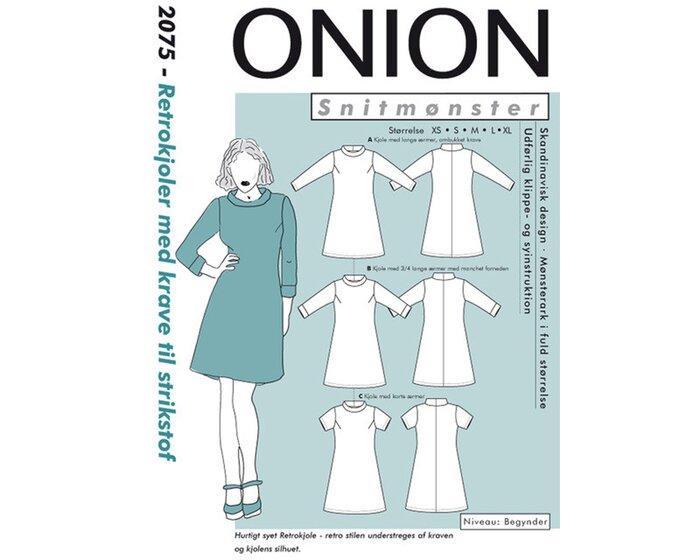 Kleid mit Rollkragen, Schnittmuster ONION 2075