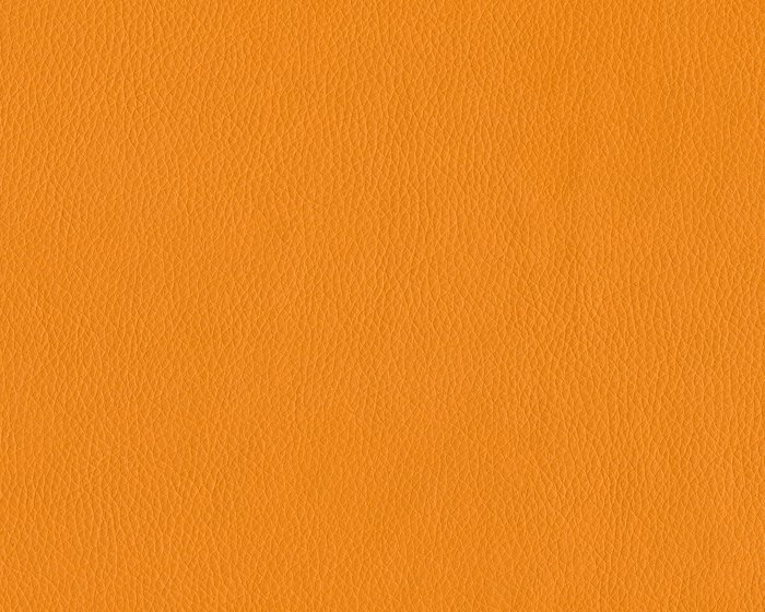 Kunstleder EDOUARD, feine Narbung, orange metallic