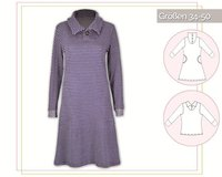 WINTERKOMBI KLEID & SHIRT, Schnittmuster lillesol women No.13
