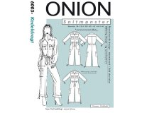Overall, Schnittmuster ONION 6005